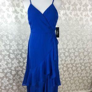 LULUS BLUE MAXI DRESS, Size Small.